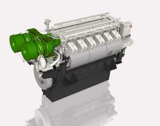 ABC medium speed engine VDZ – 4000kW