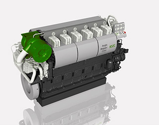 ABC medium speed engine DZ – 2000kW